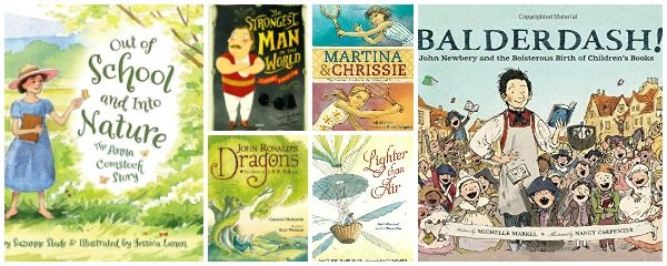 6 Wonderful New Picture Book Biographies