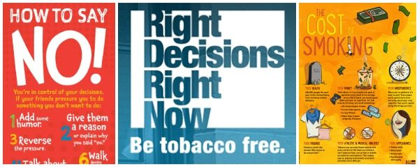 Anti-Smoking Resources & Contest from Right Decisions Right Now