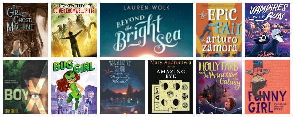 New Chapter Books for Summer Reading 2017 (Ages 10 – 12)