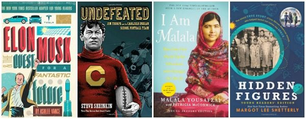 4 Inspiring Nonfiction Books for Teen Readers