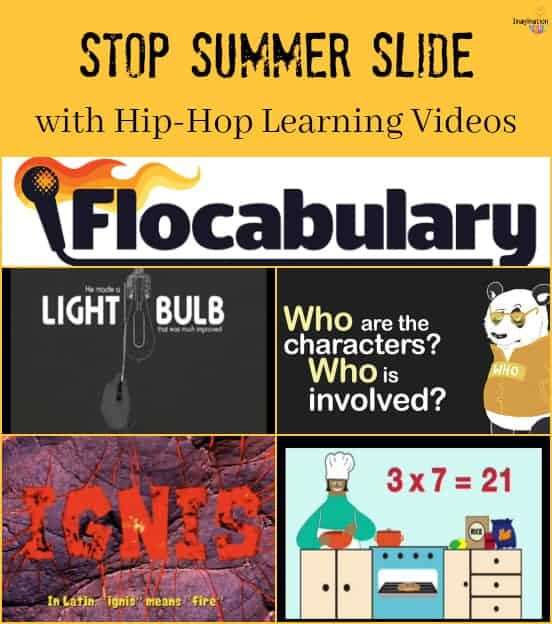 stop the summer slide with hip-hop learning videos