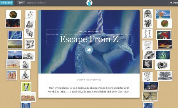 Spark Creative Writing with Storybird