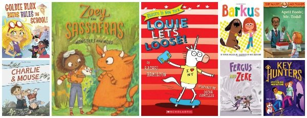Easy Chapter Books for Summer Reading 2017 (ages 6 – 8)