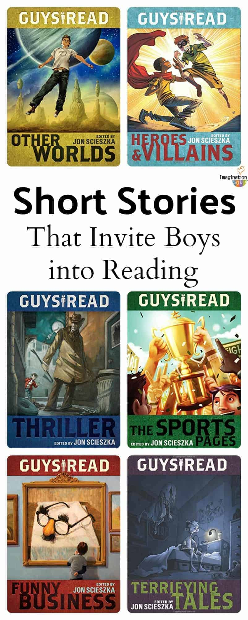 Guys Read Short Stories Invite Boys Into (a Different Kind of) Reading