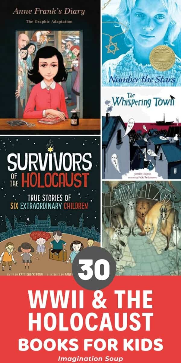Historical Children's Books About The Holocaust and World War II