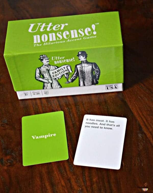 Utter nonsense the hilarious accent game review test the hilarious accent game review test reheart Image collections