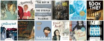 books for kids about the Holocaust and World War II