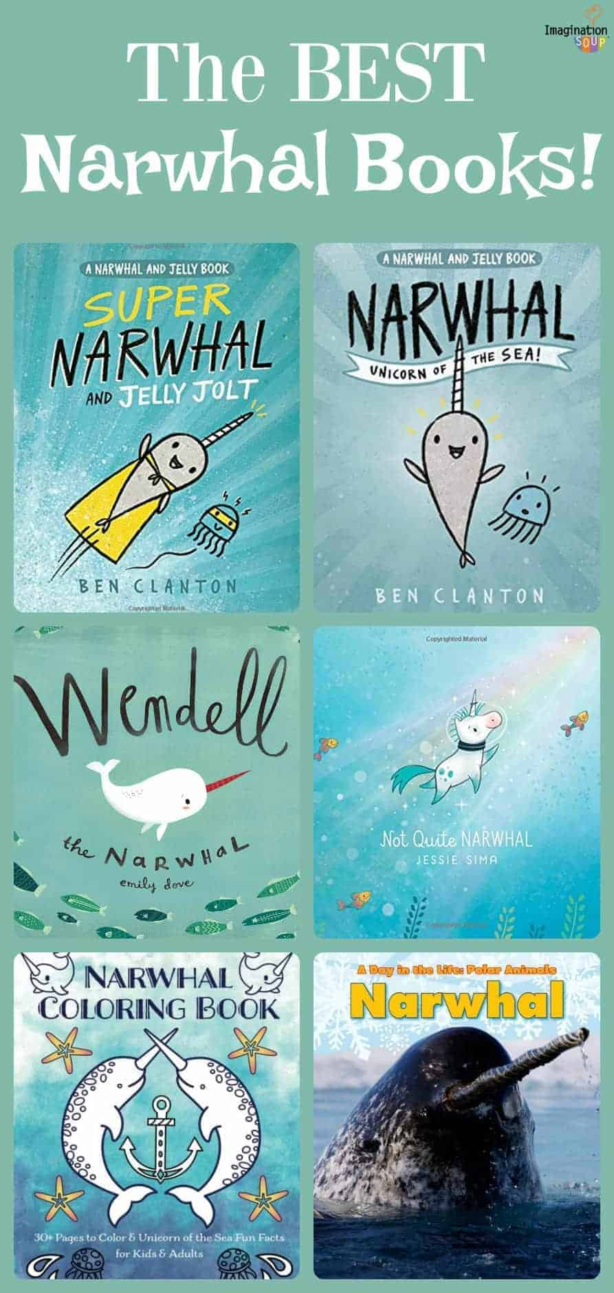 the best narwhal books for kids (and other fun narwhal gift ideas)