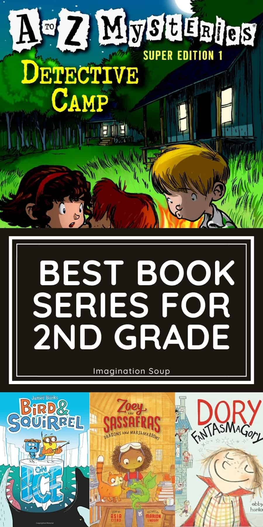 20 Fantastic Chapter Book Series for 2nd Graders