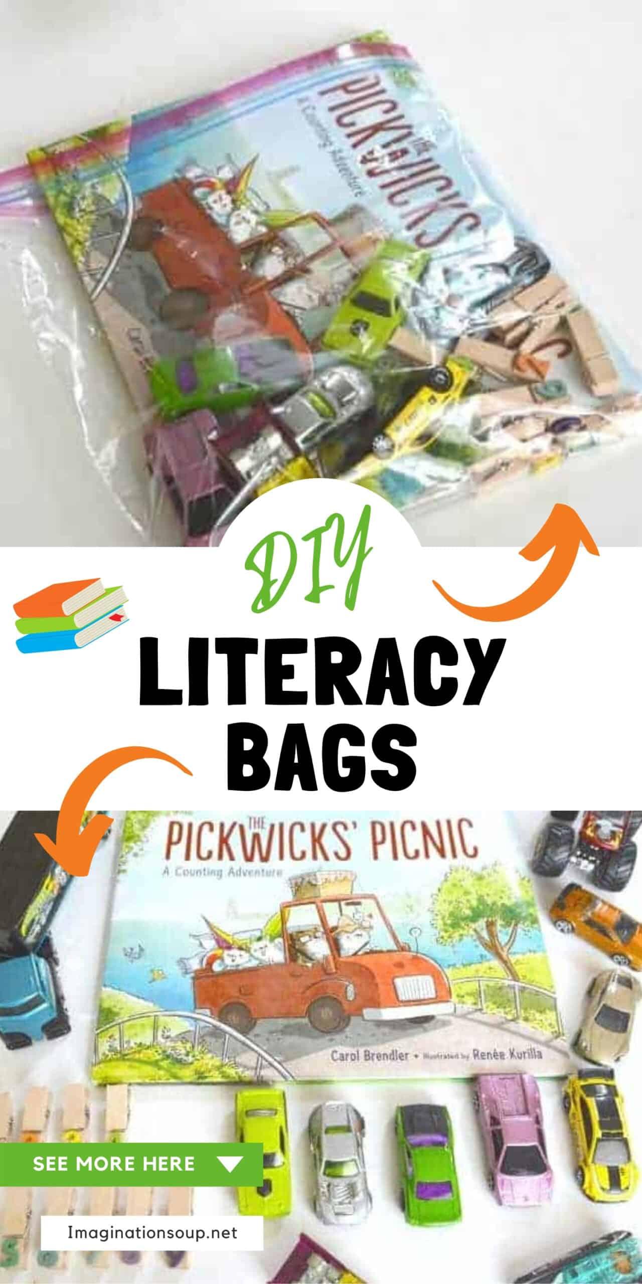 diy literacy bags