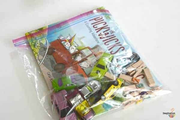 Easily Make Your Own Literacy Book Bags