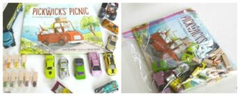 DIY make your own literacy book bags