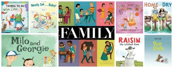 New Picture Books about Families (& New Baby)