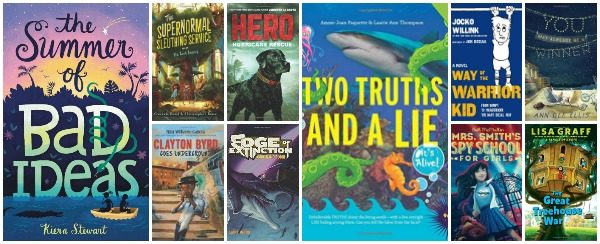 Summer 2017 New Releases for Ages 8 – 12 Years Old