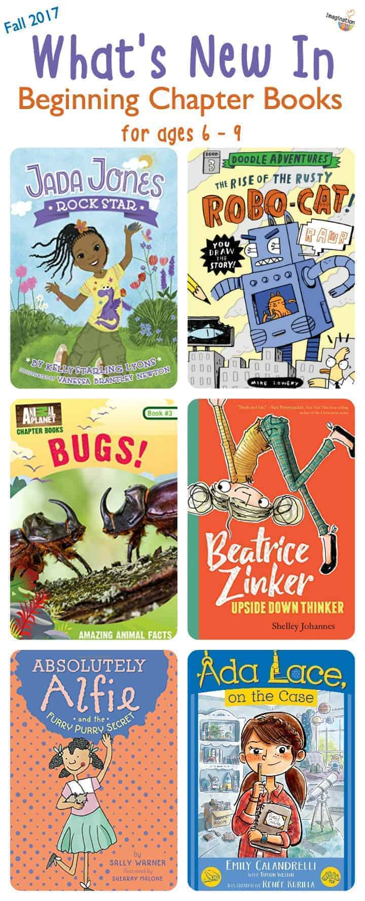 The Latest Beginning Chapter Books for Ages 6 to 9, Fall 2017