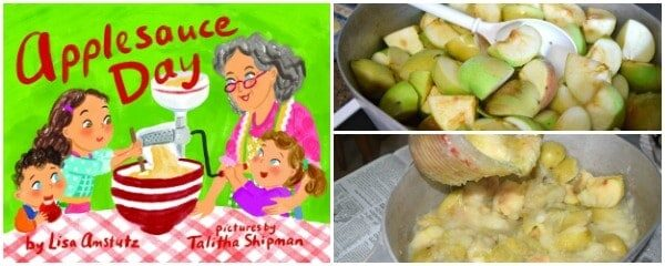 Apple-icious Recipe and Children's Books (Perfect for Fall)