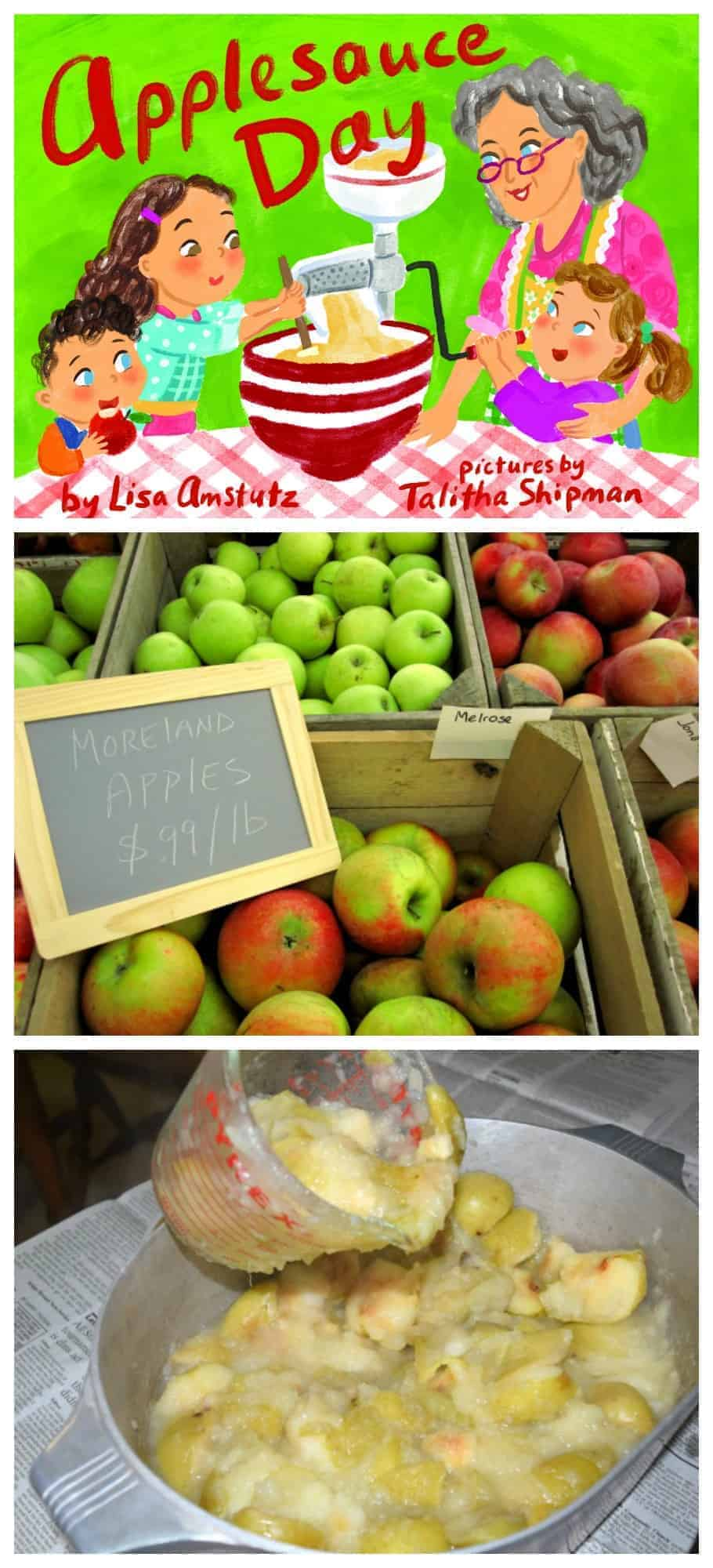 Applesauce Recipe, Apple Children's Books, and Apple Activities Perfect for Fall