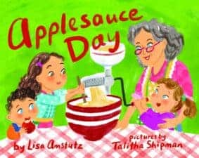 Apple-icious Applesauce Recipe and Children's Apple Books Perfect for Fall
