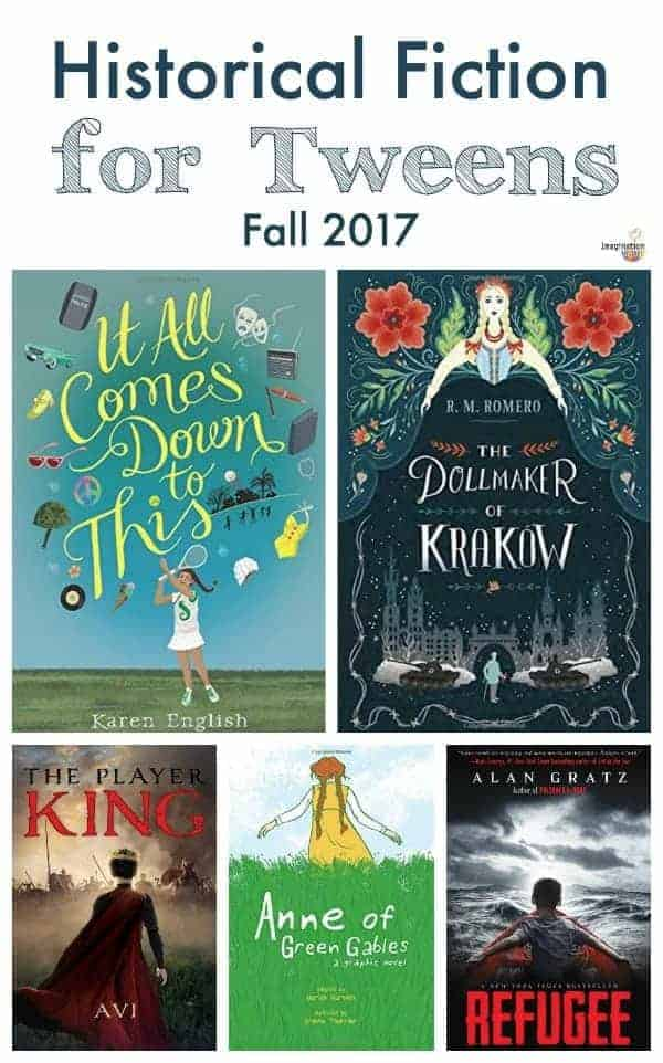 new historical fiction chapter books for tweens