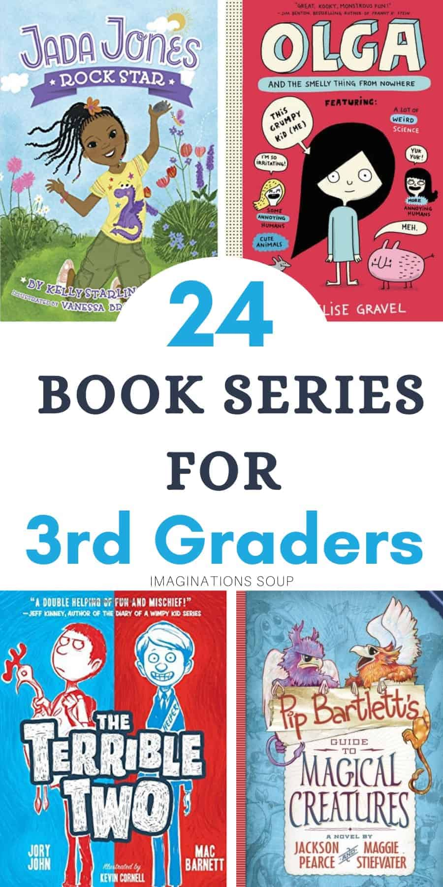 good book series for 3rd graders