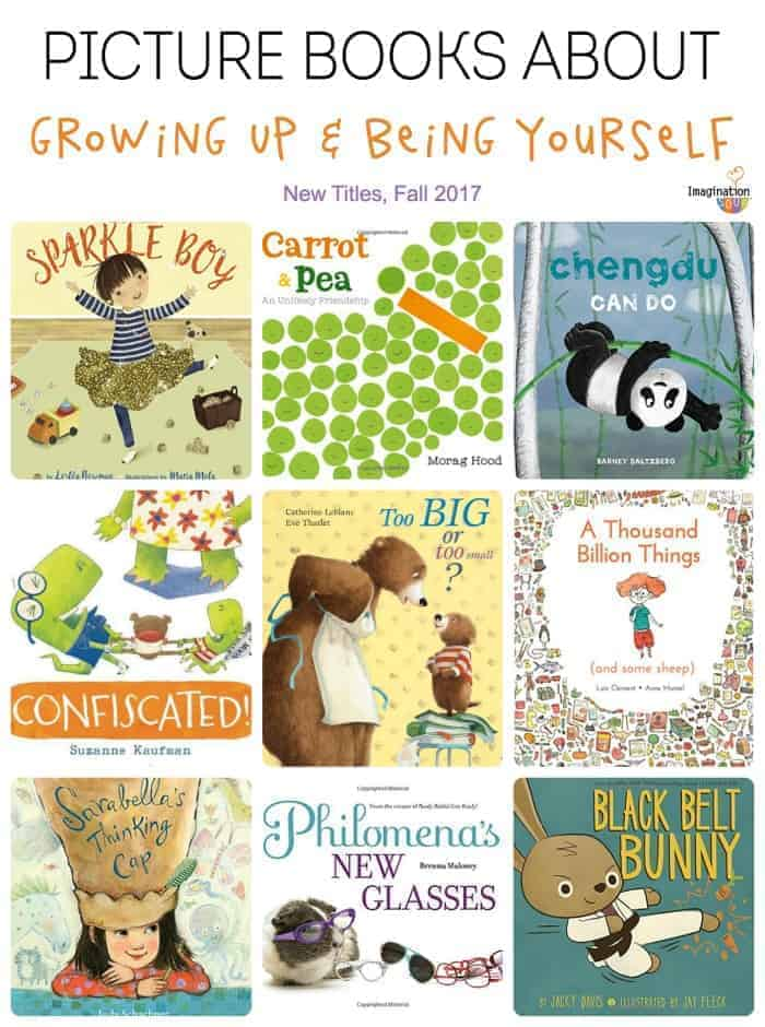 picture books about growing up and being yourself