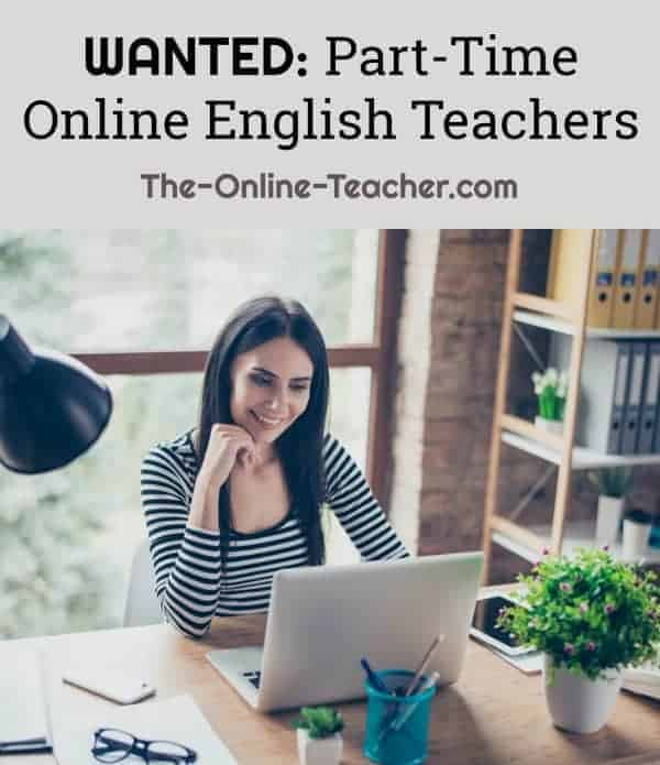 teach English from home (online) part time -- no experience necessary