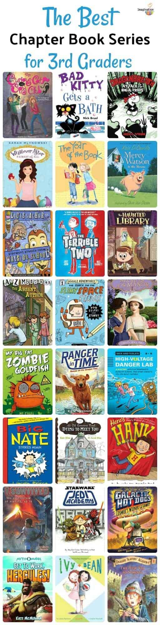 chapter book series that 3rd graders (8-year-olds) LOVE!