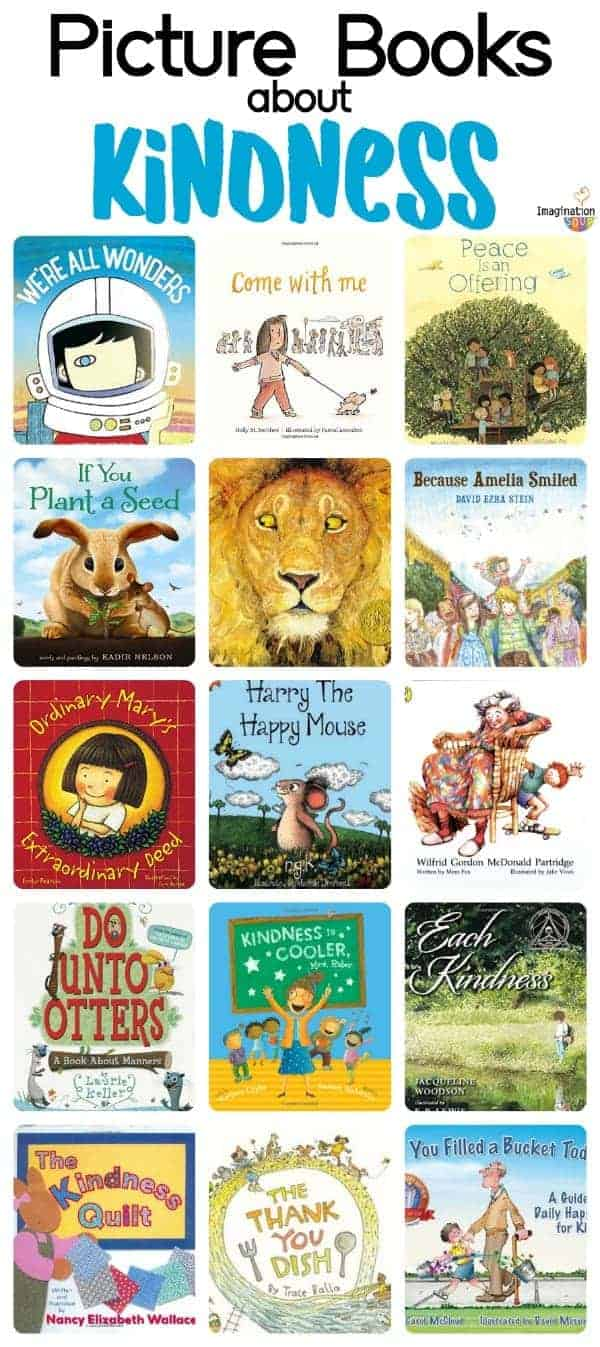 16 excellent children's picture books about kindness