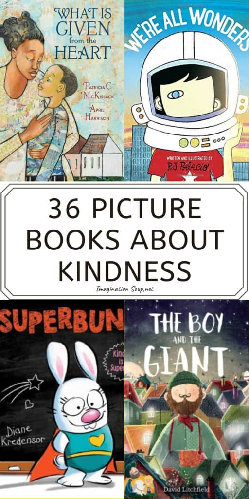 36 picture books about kindness