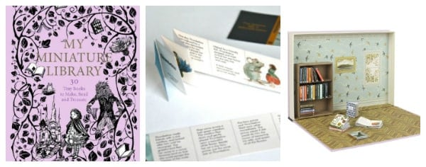 My Miniature Library DIY craft for book loving kids