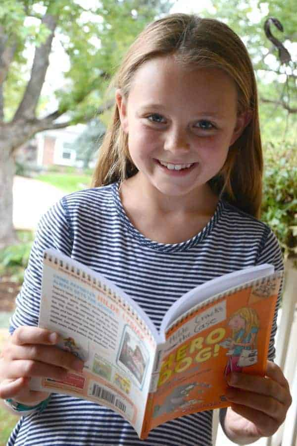 Hilde Cracks the Case is a new Scholastic Branches beginning chapter book for ages 6 - 8
