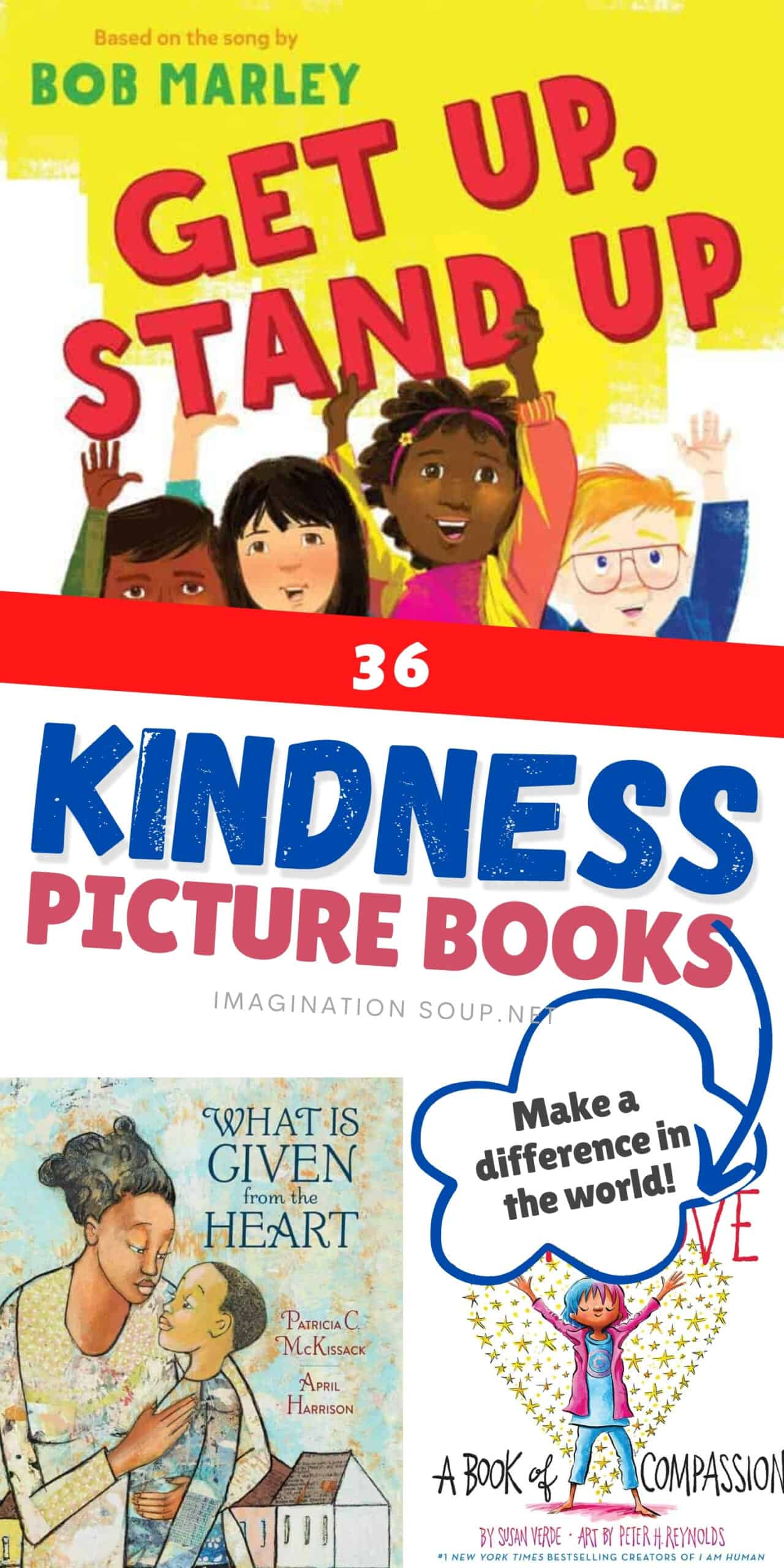 Kindness picture books for kids
