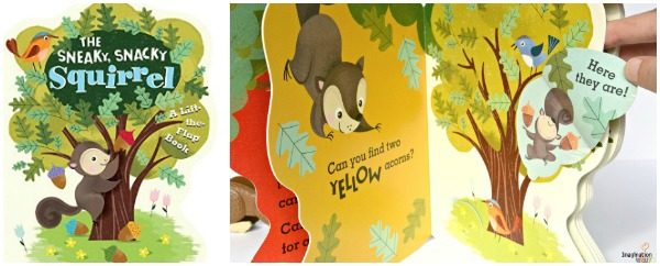 Award-Winning Sneaky, Snacky Squirrel Game Now a Board Book!