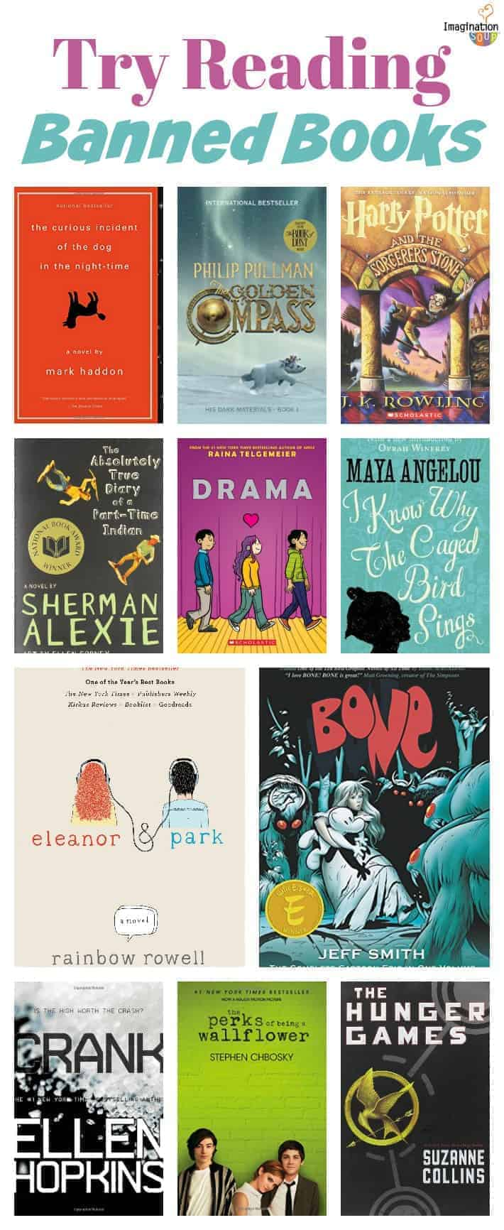 get your tweens and teens excited about reading with banned books