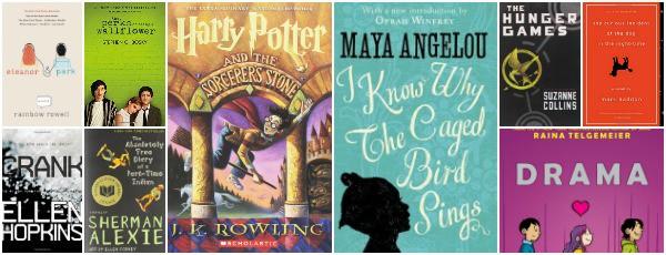 banned books tweens teens