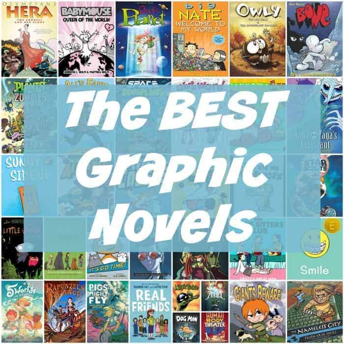 the best graphic novels for elementary and middle school kids