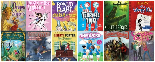 32 Good Book Series For 4th Graders That Will Keep Them Reading