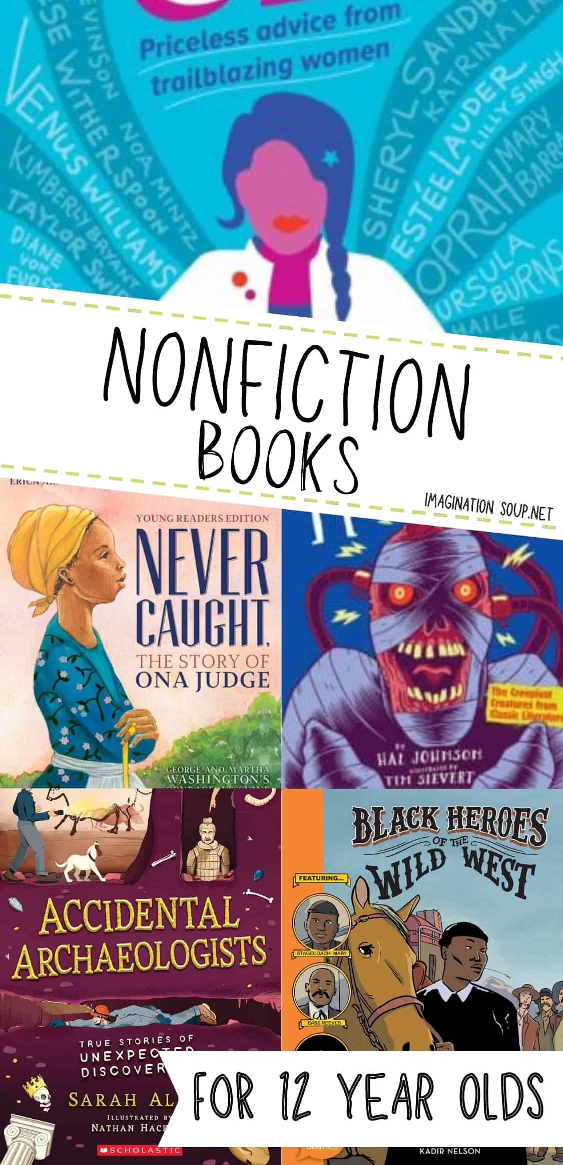 nonfiction books for 12 year olds