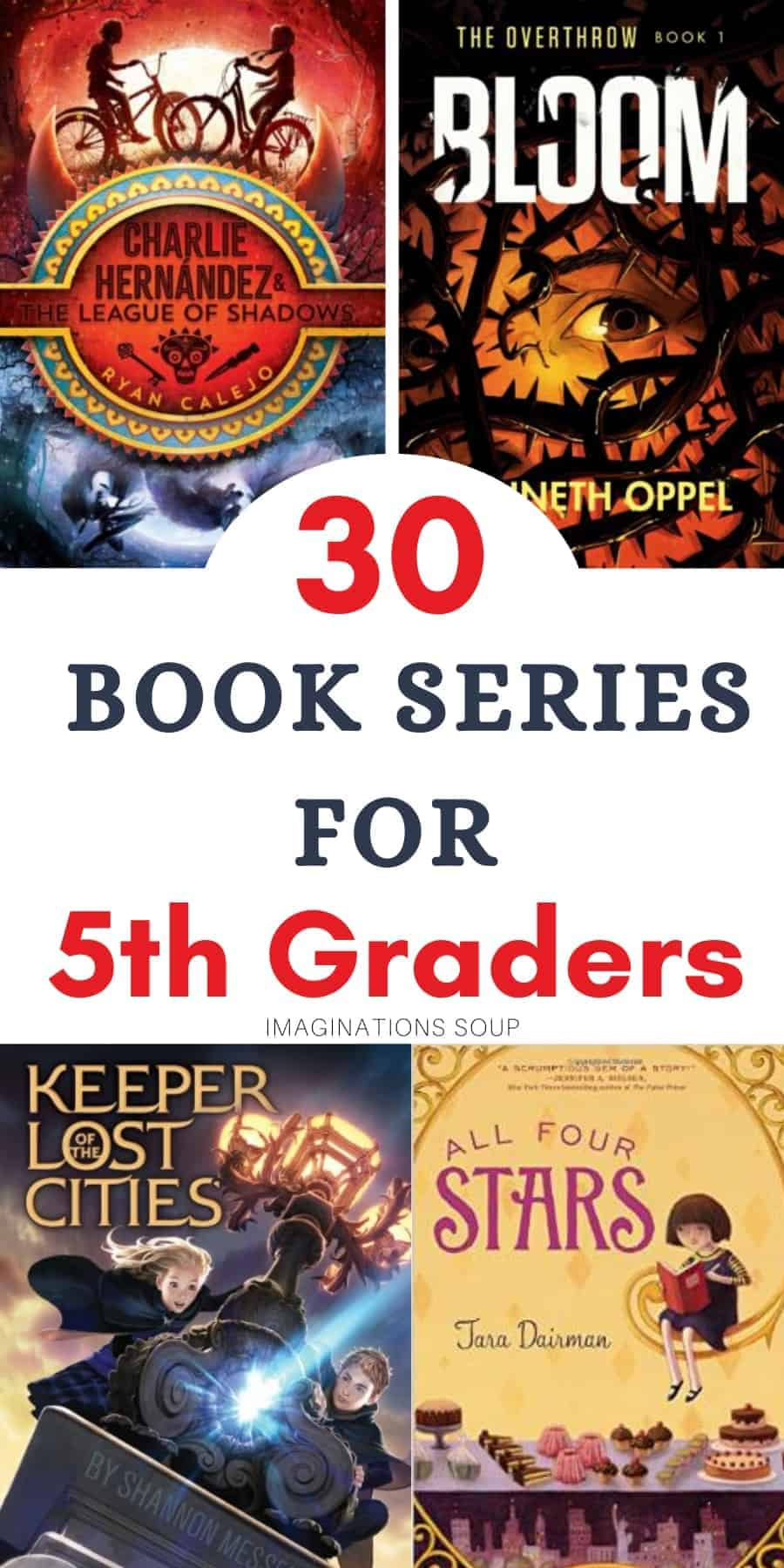 30 book series for 5th graders