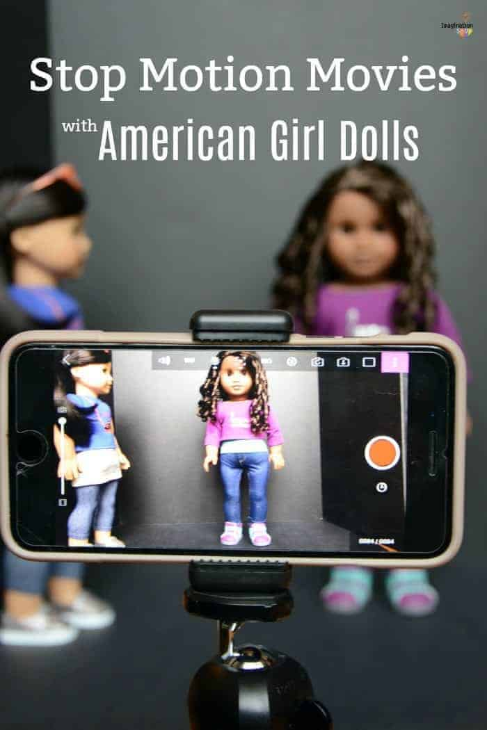 STEAM Stop Motion Movie Activity with American Girl Dolls