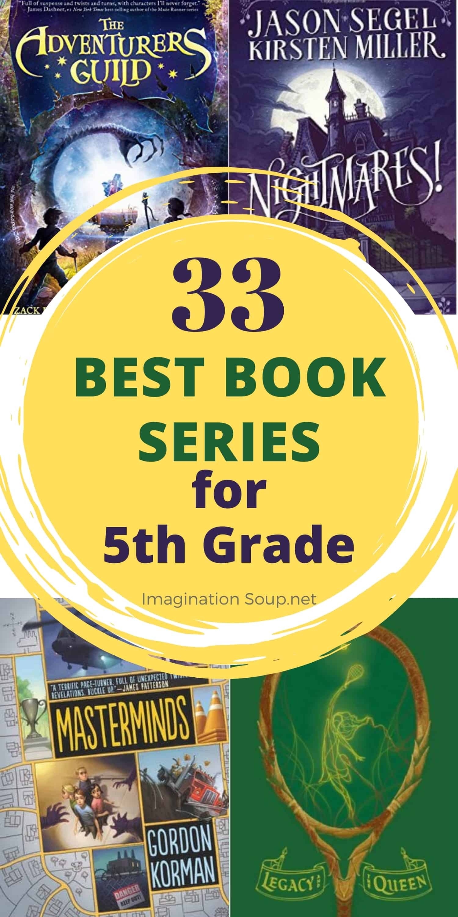 best book series for 5th grade