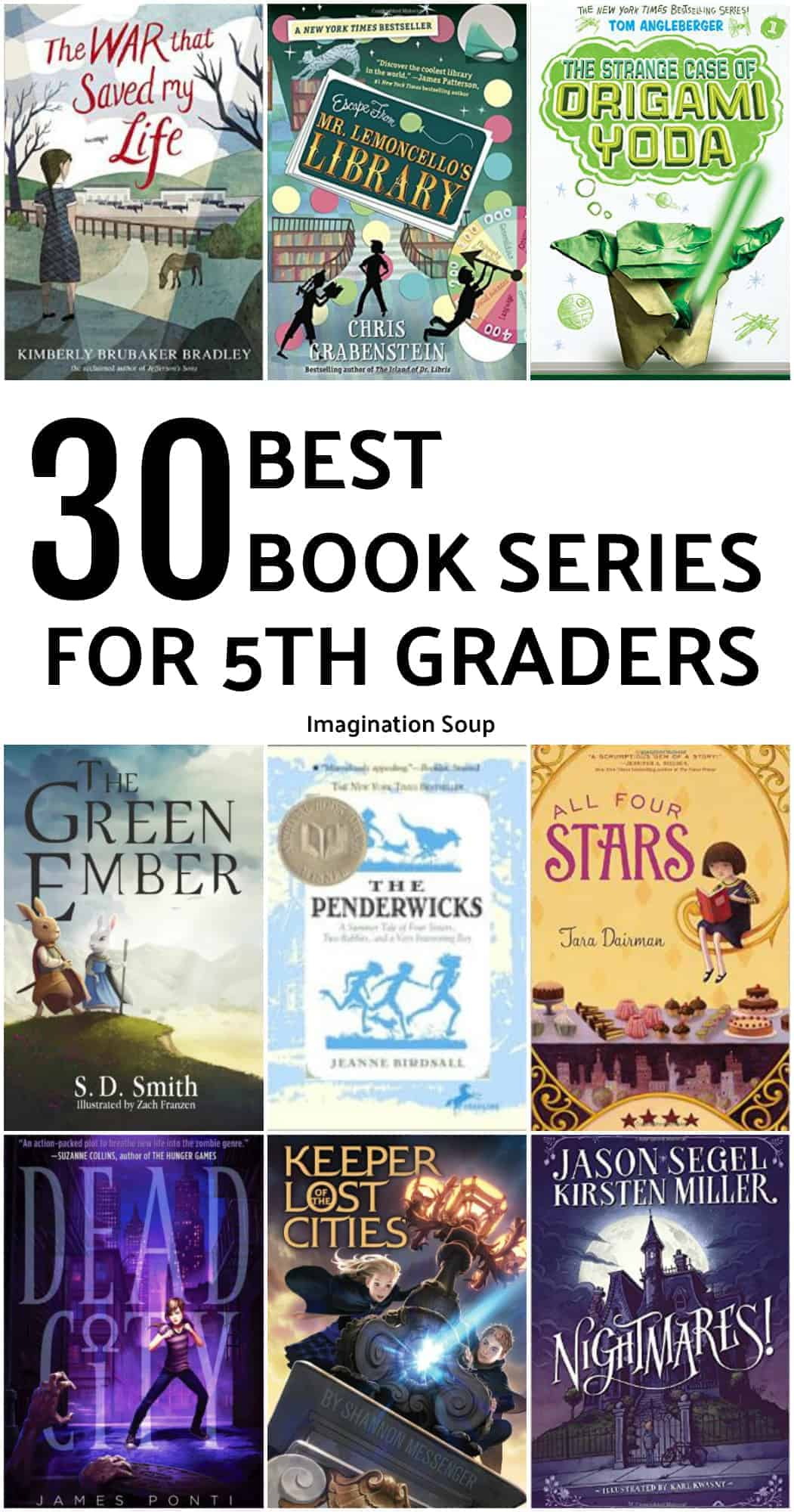 30 best book series for 5th graders