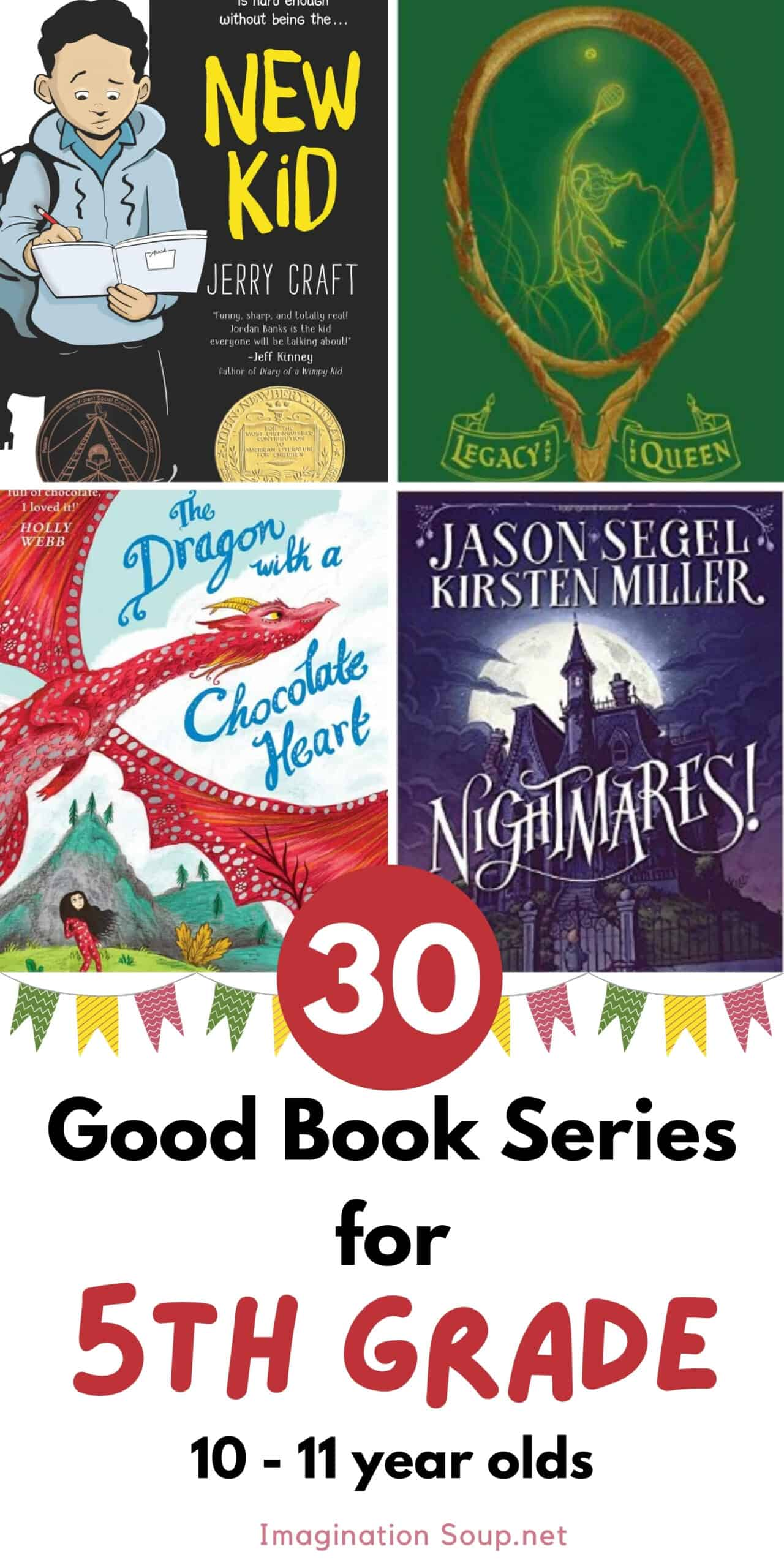 good book series for 5th grade