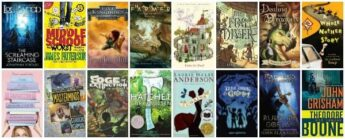book series for kids in the 6th grade (11 years old) 6th graders