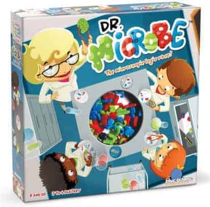 Clever Logic Race Game: Dr. Microbe