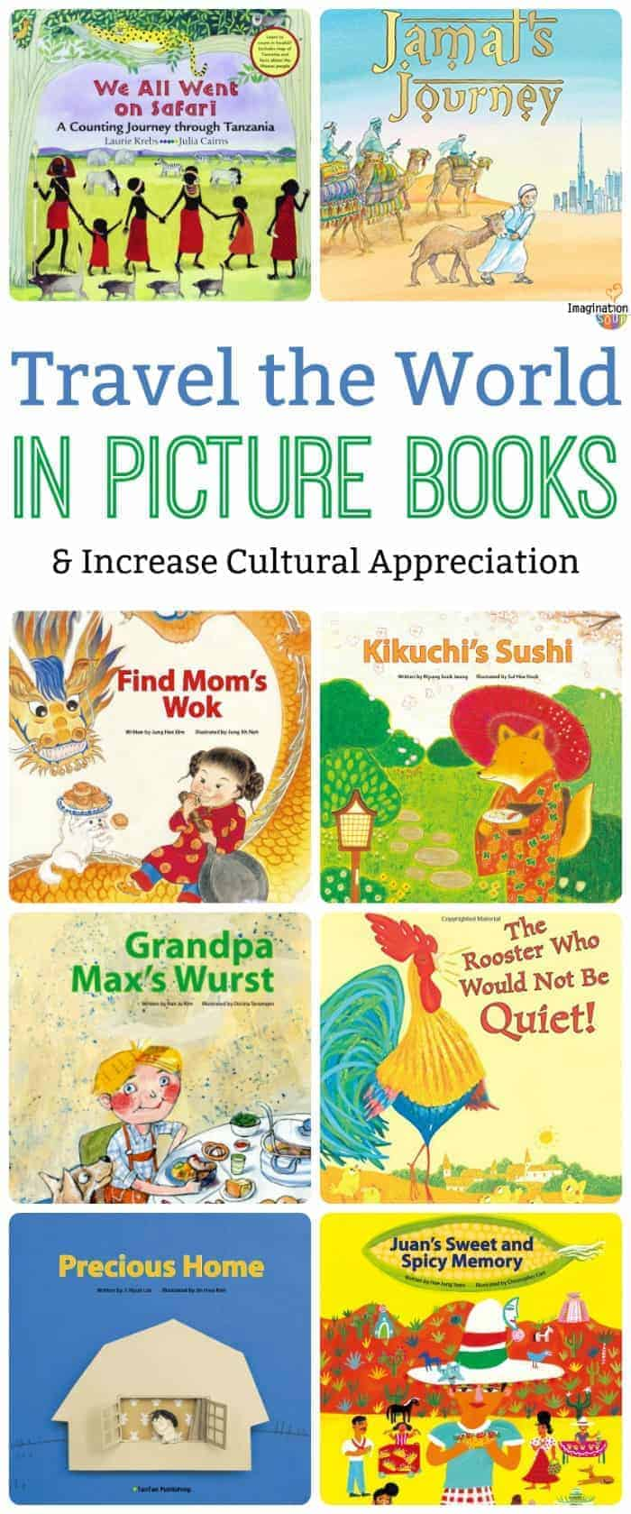 wonderful picture books from countries around the world (many of these are all about food!)
