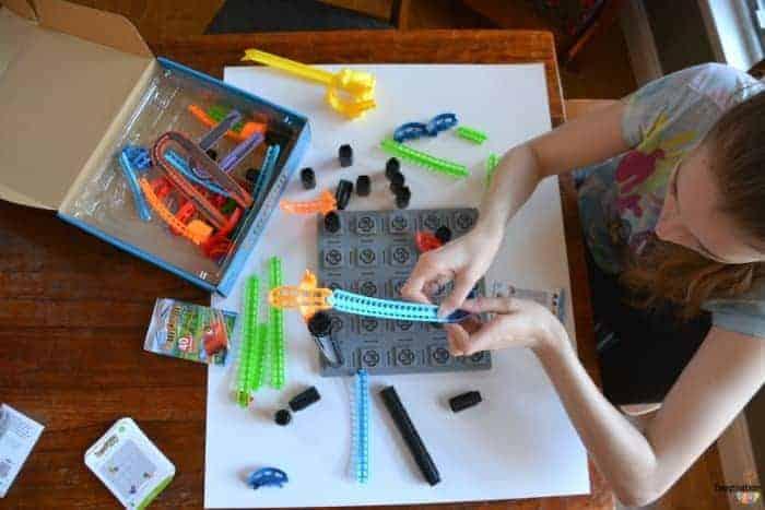 STEM skills game Roller Coaster Challenge