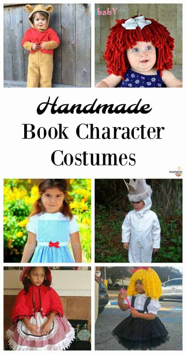 how to make a book character costume
