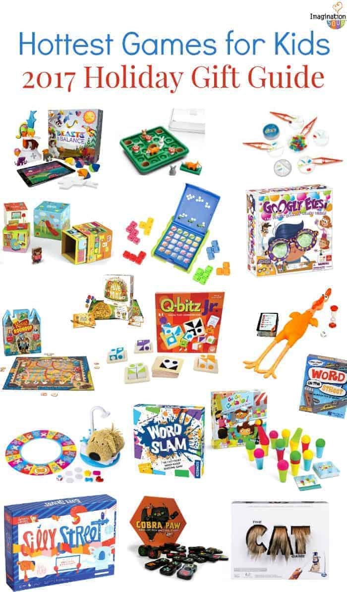 2017 new games for kids and families for Christmas or holiday gifts