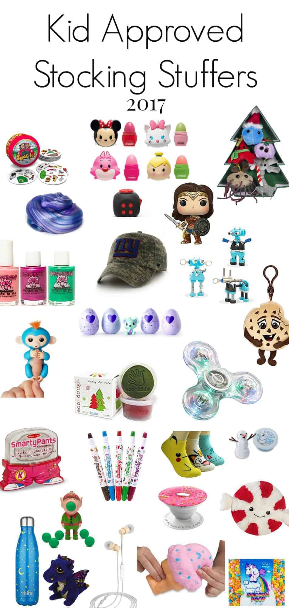 Awesome Christmas Stocking Stuffers for Kids 2017